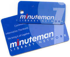 Minuteman library cards, wallet and key chain sizes