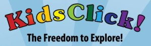 Kids Click website logo