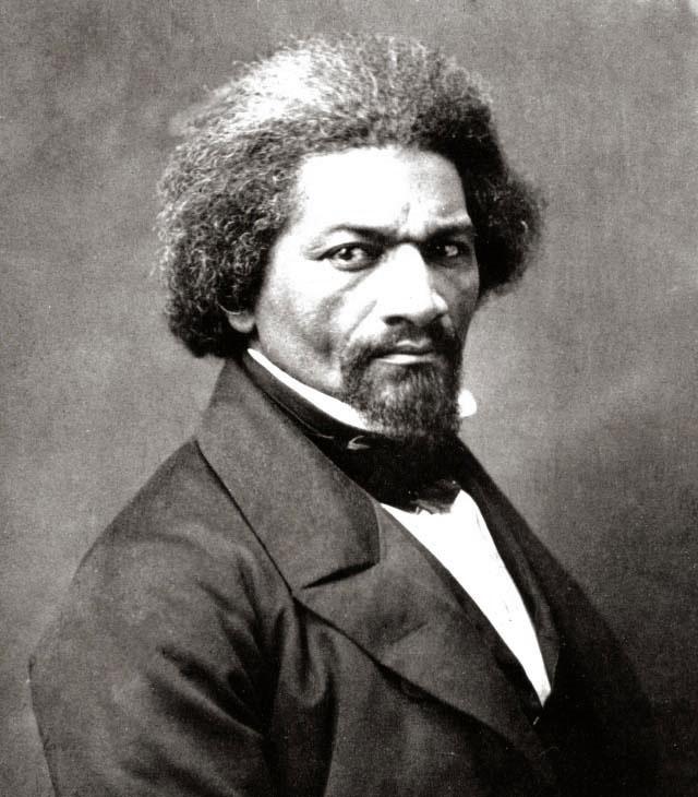 Frederick Douglass, circa 1866. Courtesy of The New York Historical Society